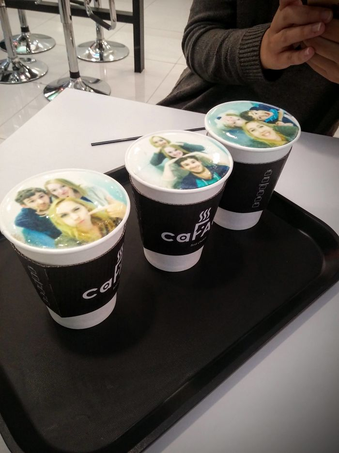 This Café Prints A Picture Of You On Your Drink's Foam
