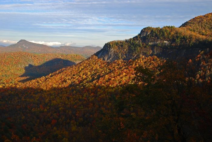 He Comes Out Of Hibernation Twice A Year, When The Sun Sets In The Southern Blue Ridge