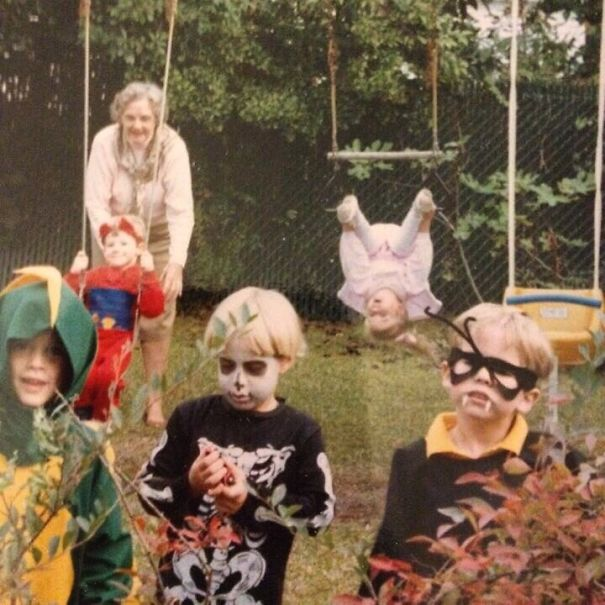 Halloween 1989. My Sister Is About To Have A Really Bad Day