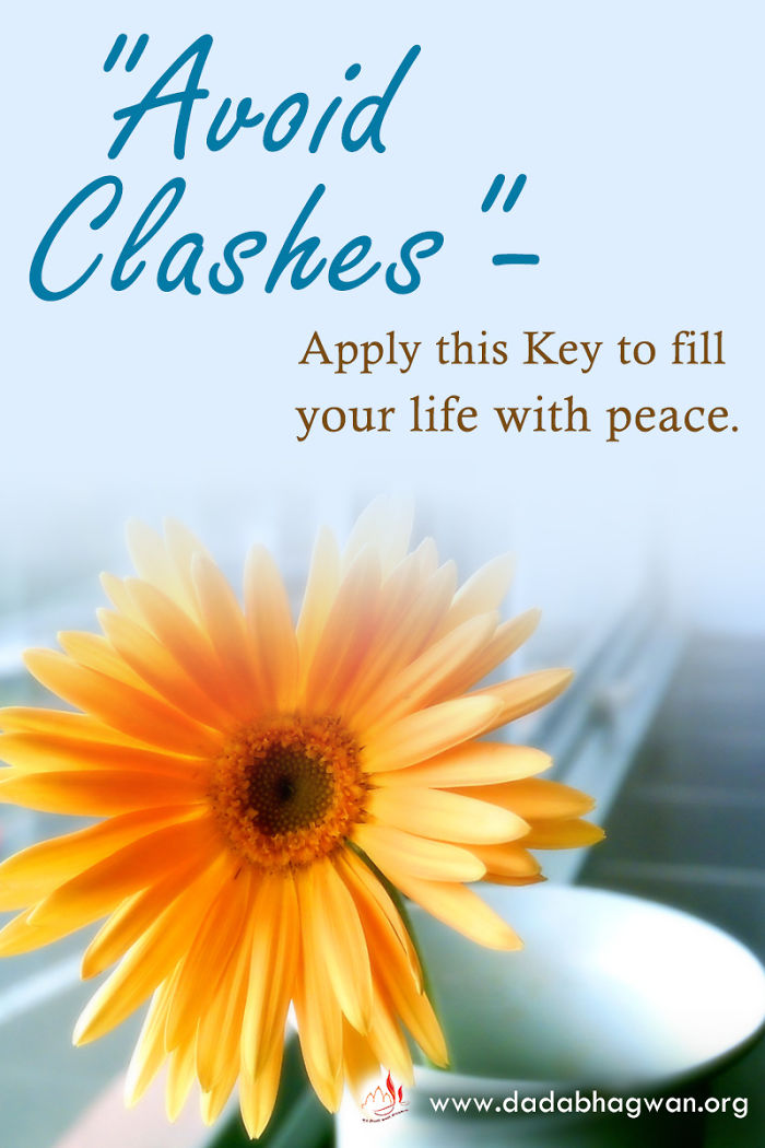 """""""Avoid Clashes"""" – Apply This Key To Fill Your #life With Peace."""