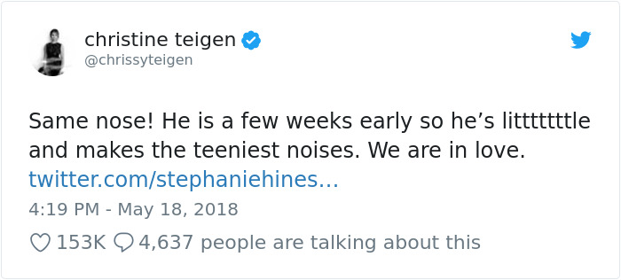 Chrissy Teigen Reveals The Dark Part Of Giving Birth And The Internet Can't Handle The Truth