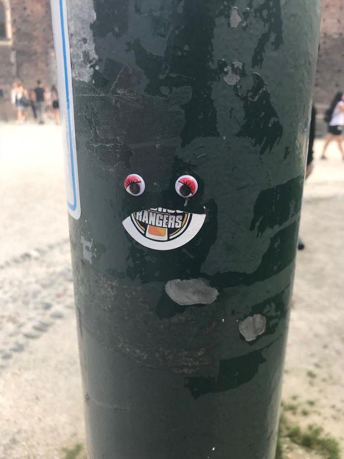 We Googly-Eyed Milan