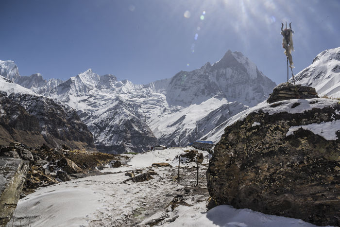 I Travelled 504 Hours, Up To 4500m In Nepal