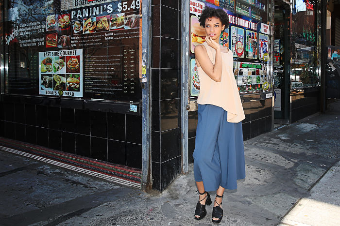 New York Delis Became My Inspiration For Creating Versatile Fashion To Balance Urban Noise