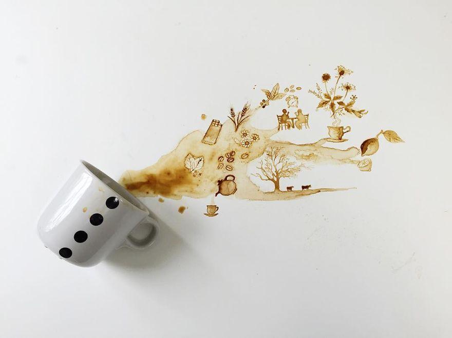 Spilled-Tea-Coffee-Art-Giulia-Bernardelli