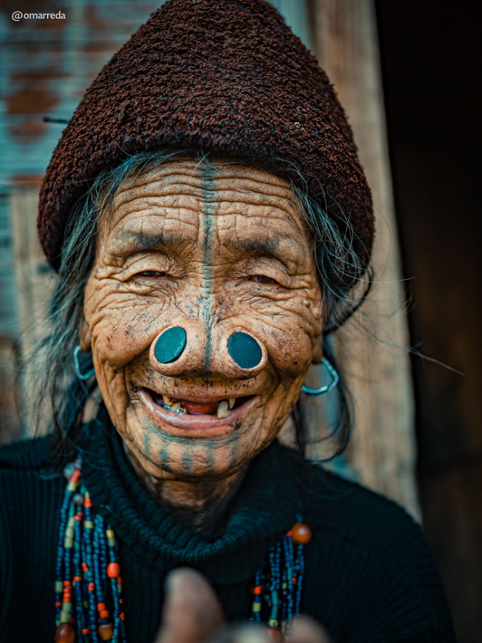 The Joyful Spirit Of The Last Generation Of Apatani Tribe Women With Nose Pluggings