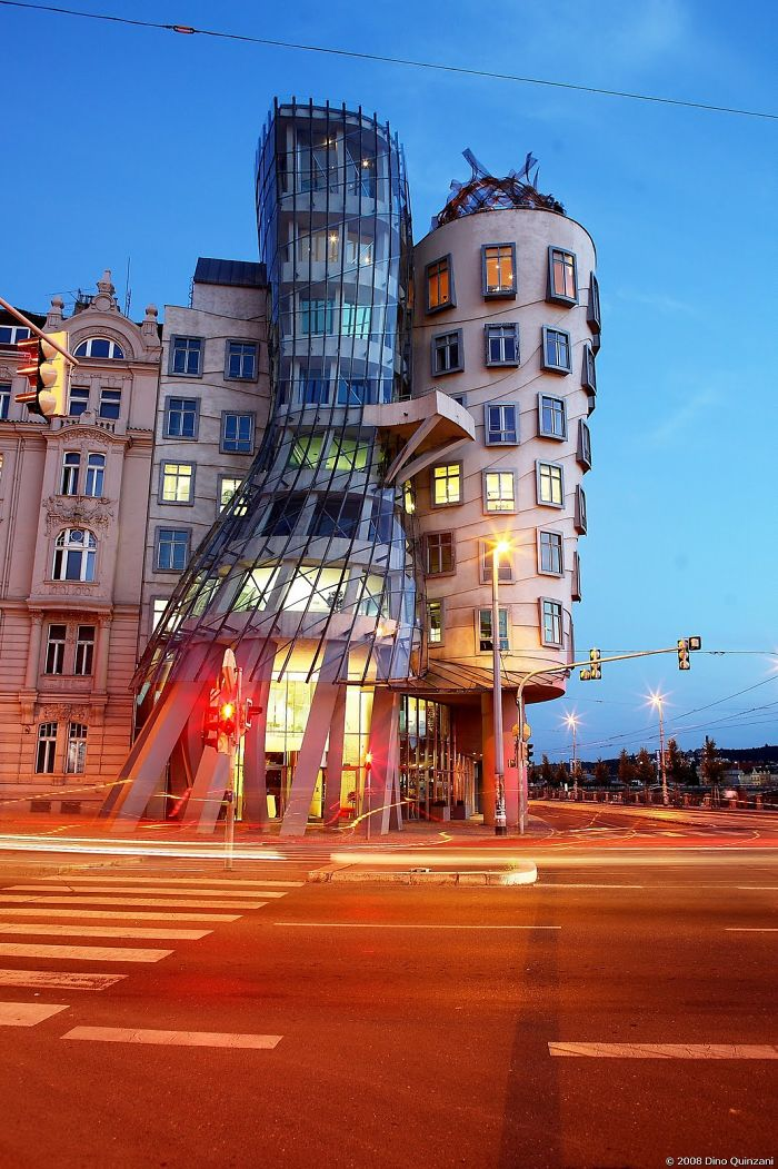 Dancing House By Vlado Milunic + Frank Ghery