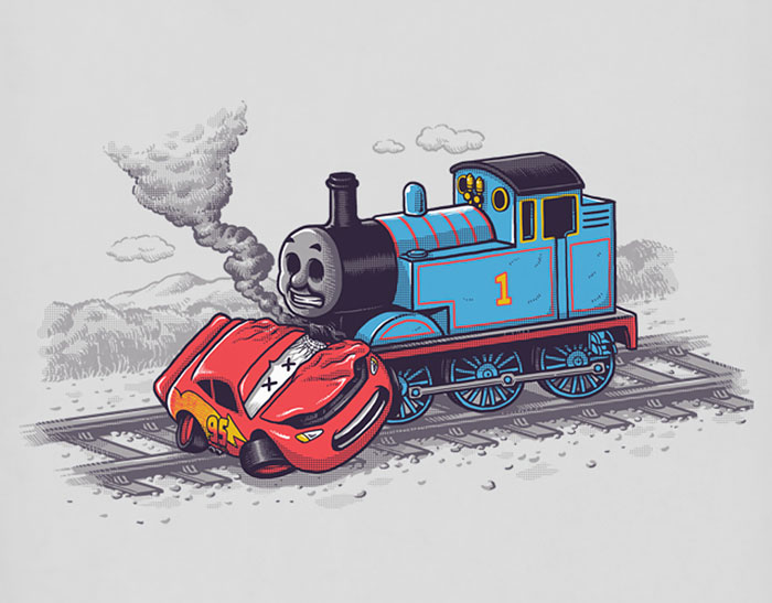 Artist Makes Sarcastic Illustrations Inspired By Elements Of Pop Culture