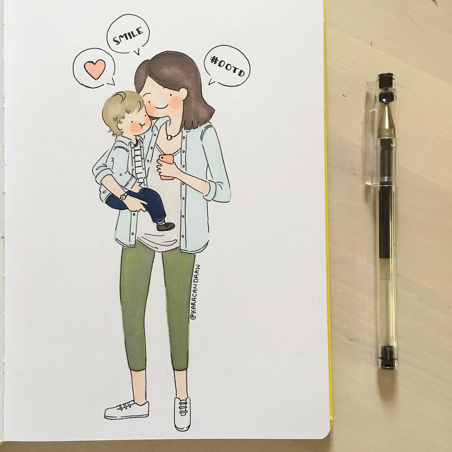 Modern-Day Mom