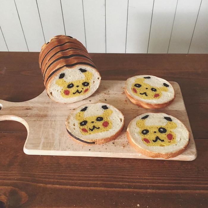 """Baker """"Hides"""" Designs On Their Breads Making Breakfast Become More Fun"""