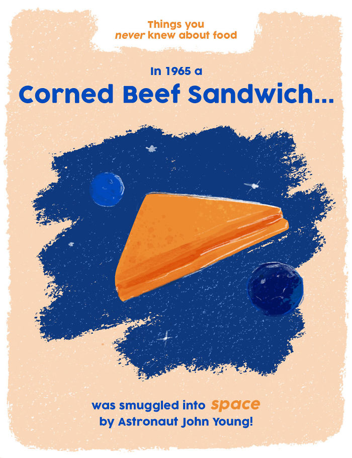 A Corned Beef Sandwich Made The Voyage To Space In 1965!