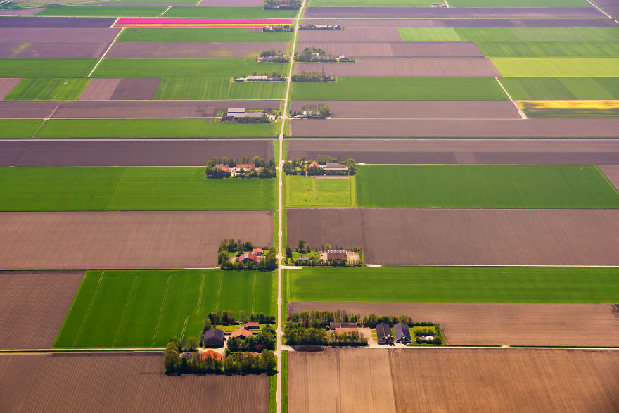 This Shot Shows How Straight And Flat The Dutch Landscape Is