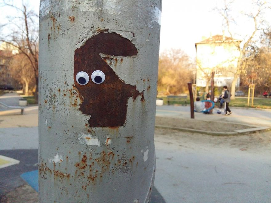 I Bring Bulgarian Streets To Life By Putting Googly Eyes On Random Objects (New Pics) 37