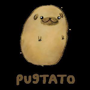 Dat Bored Pugtato =^0^=