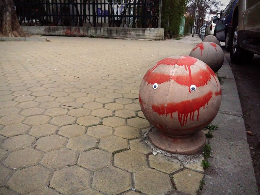 I Bring Bulgarian Streets To Life By Putting Googly Eyes On Random Objects (New Pics) 44