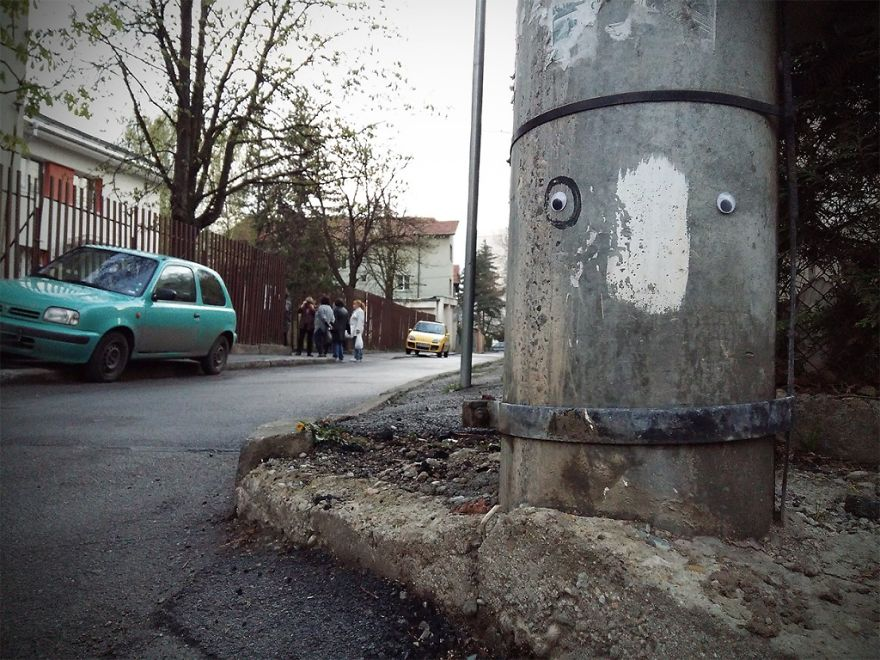I Bring Bulgarian Streets To Life By Putting Googly Eyes On Random Objects (New Pics) 46