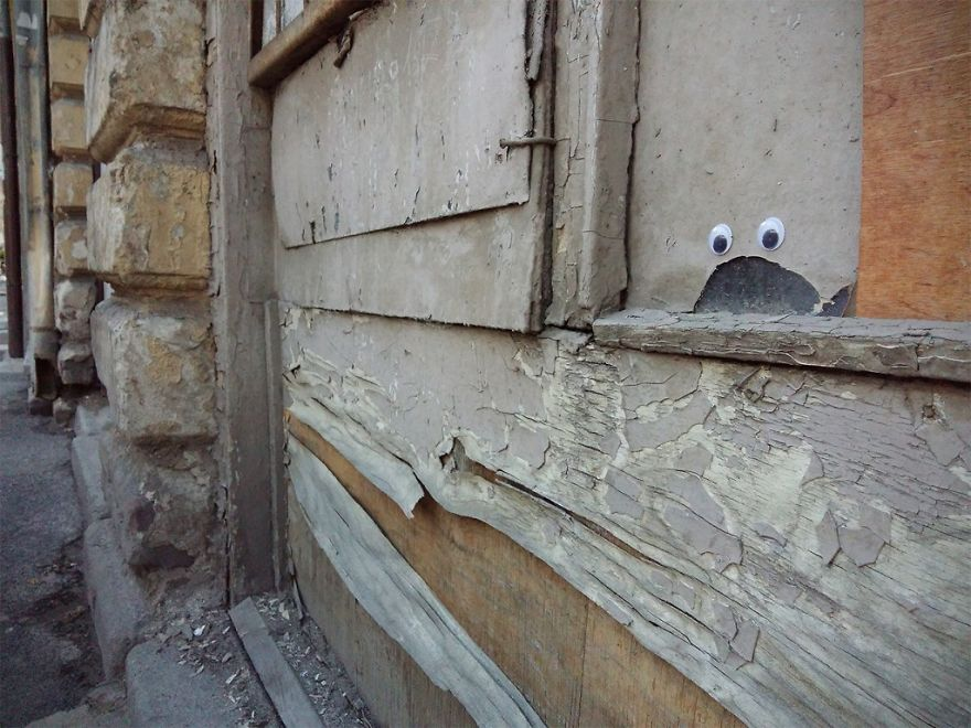I Bring Bulgarian Streets To Life By Putting Googly Eyes On Random Objects (New Pics) 40