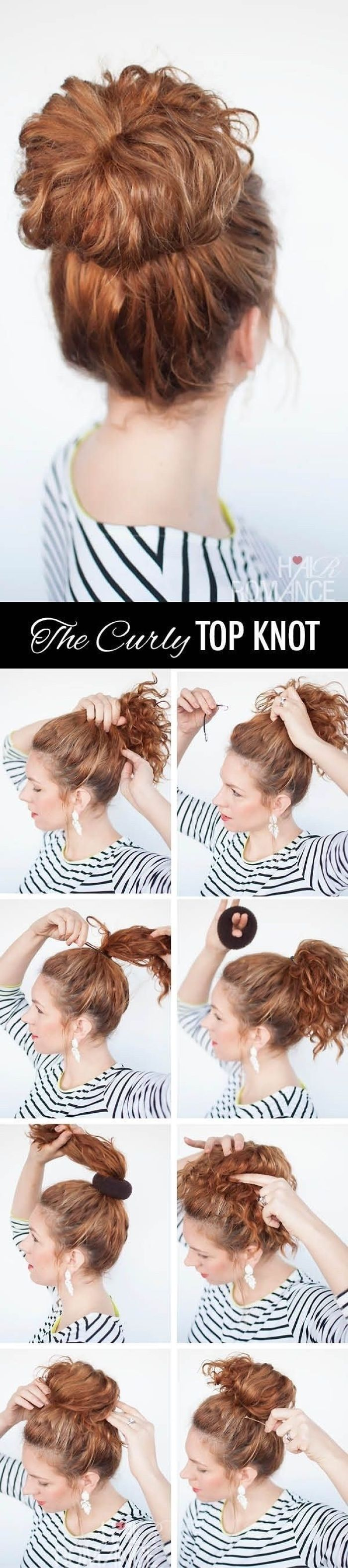 I Found These On Her Bookmarks – Easy Hairstyles For Girls