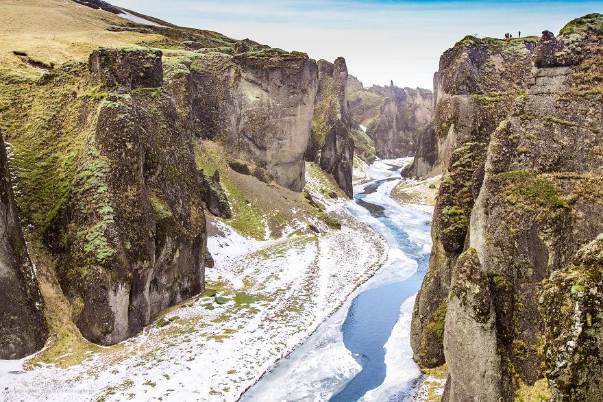 Incredible Cliffs Of Fjaðrárgljúfur