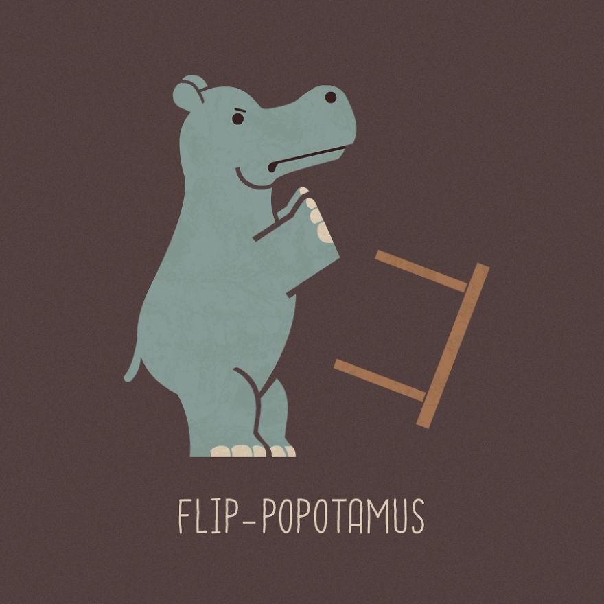 Flip-Popotamus