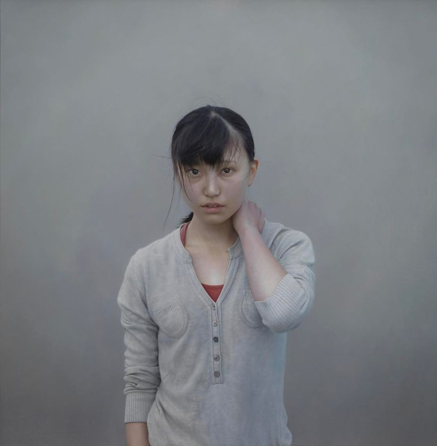 These Hyperrealistic Paintings By A Japanese Artist Are So Precise You Might Confuse Them With Photos