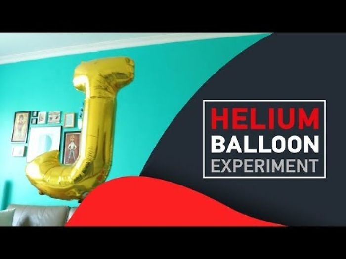 After Spending Hours Staring At A Helium Balloon.. The Result Was Unexpected.
