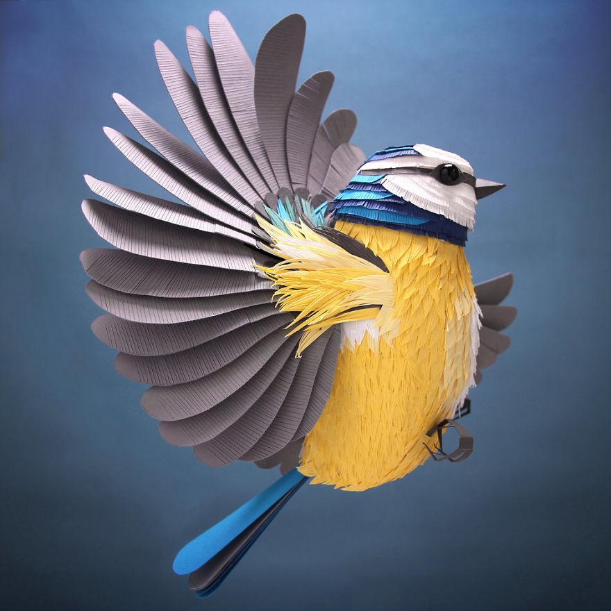 Kuşların, Arıların Ve Diğer Yaratıkların Heykelleri - 13 Resim