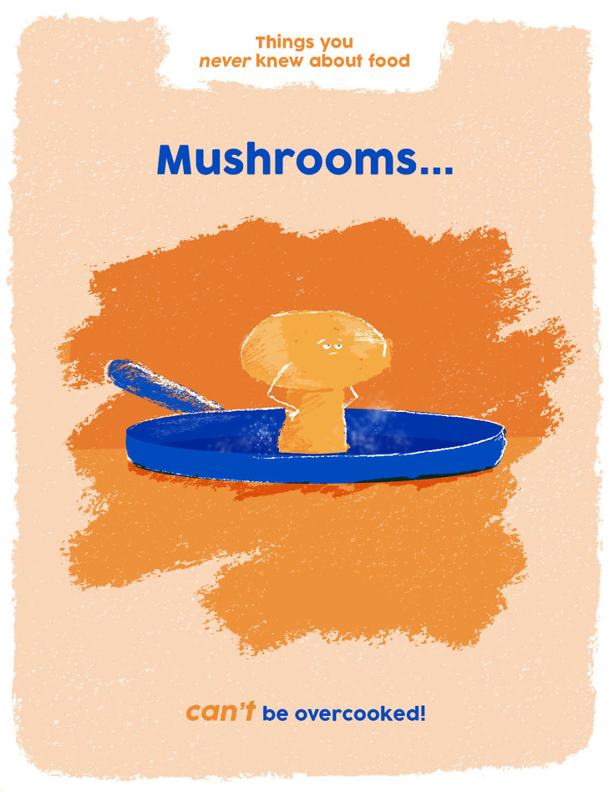 You Can't Overcook Mushrooms!