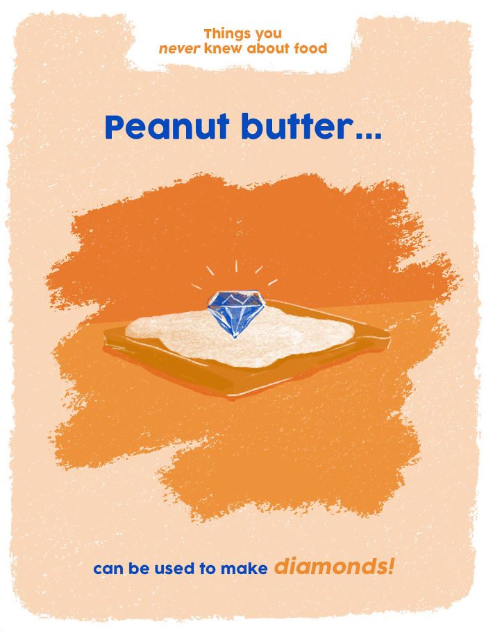 You Can Make Diamonds From Peanut Butter!