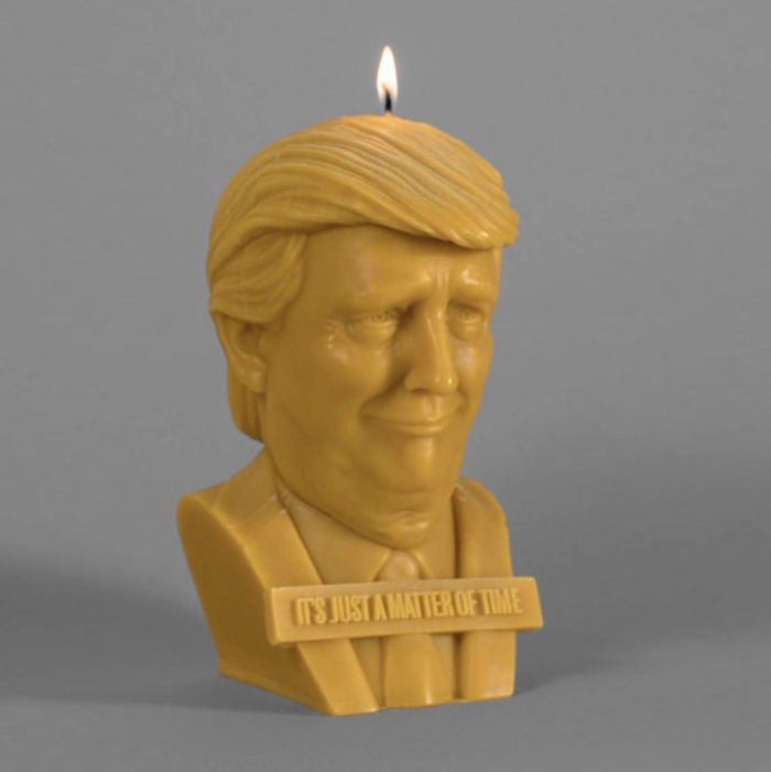 "Introducing The Trump Candle, Because ""It's Just A Matter Of Time"""
