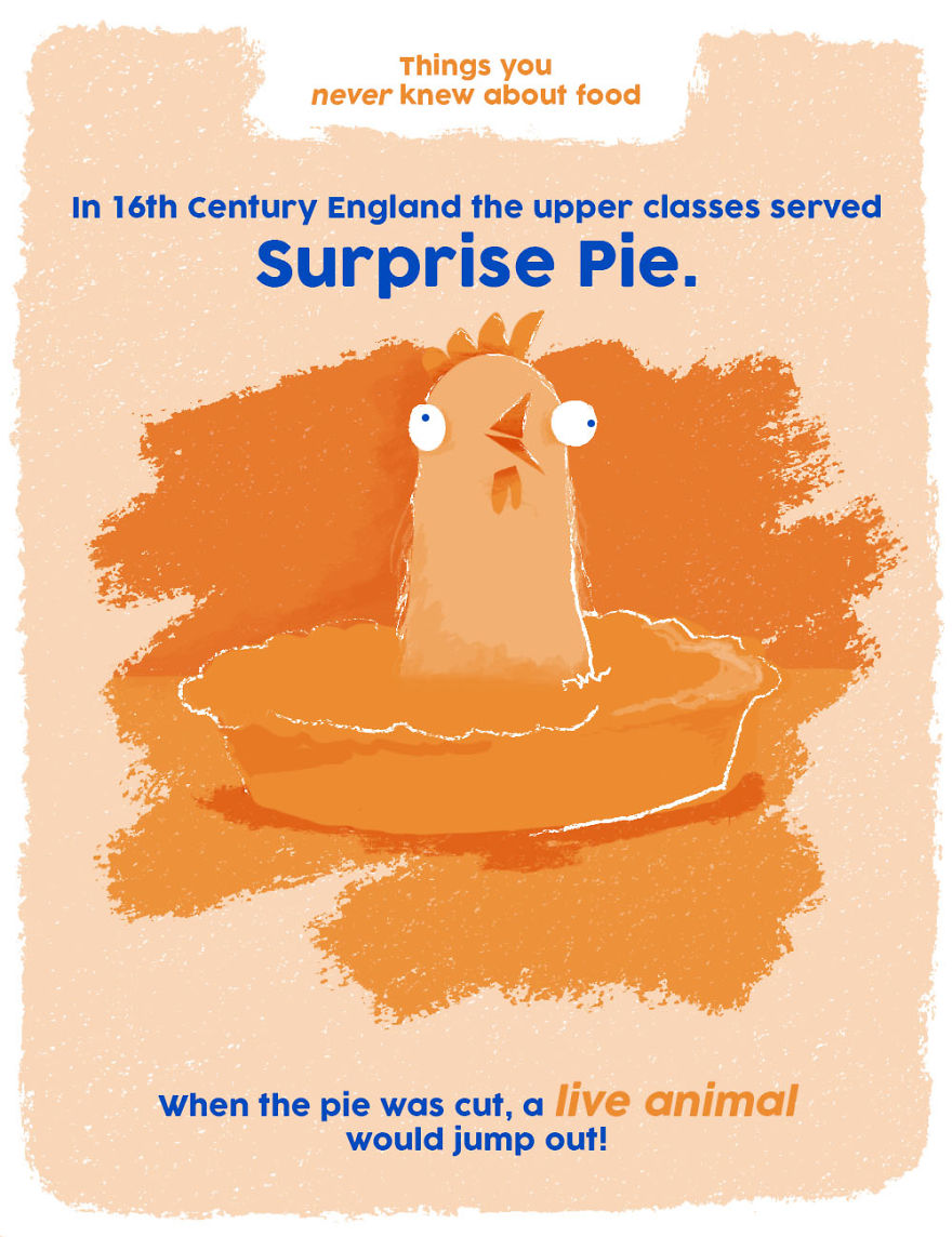 The Upper Classes Used To Serve 'Surprise Pie'!