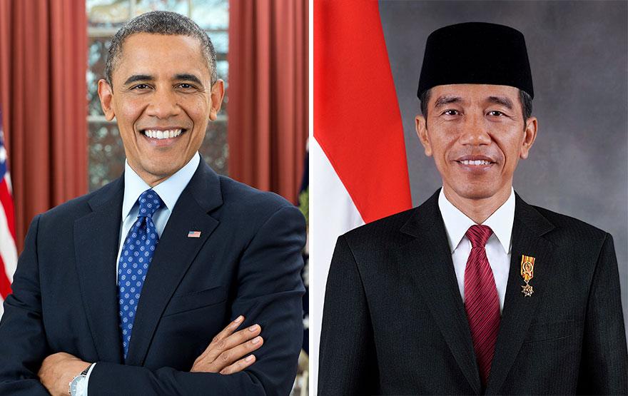 Obama dan Jokowi