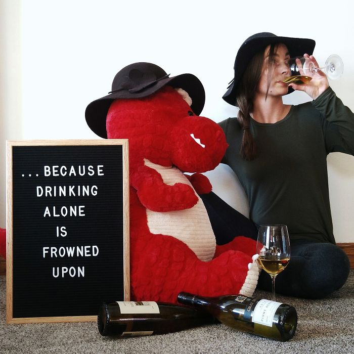 I Would Say This Is The Perfect Drinking Partner