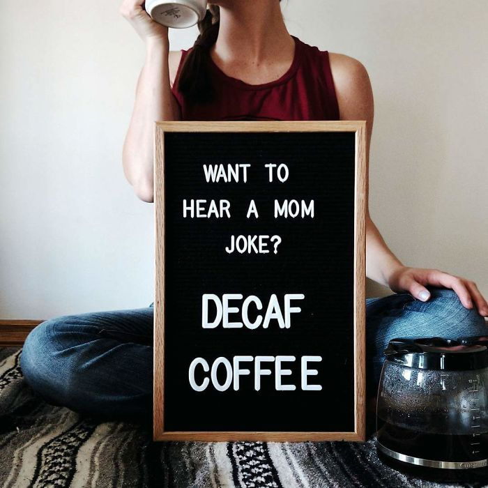 Don't Even Joke About A Mama's Coffee