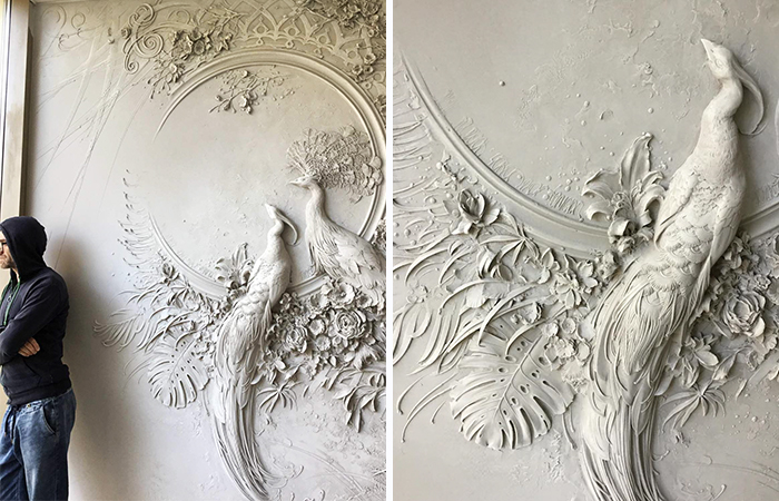 Russian Artist Uses Ancient Technique To Turn Walls Into Art, And The Result Is Gorgeous
