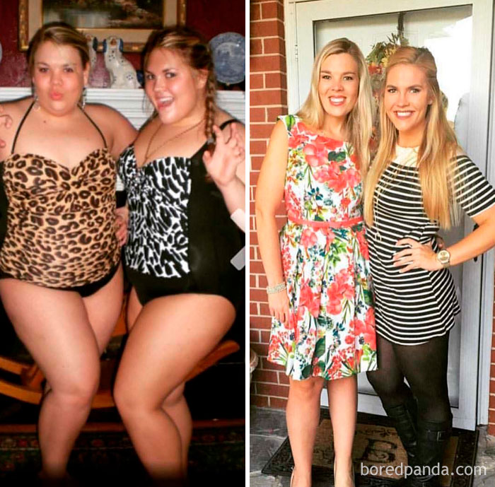 20+ Unbelievable Before& After Transformation Pics That Prove If They Could Do It, So Can You