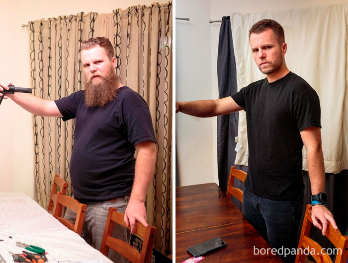 20+ Unbelievable Before& After Transformation Pics That Present If They Could Do It, So Can You
