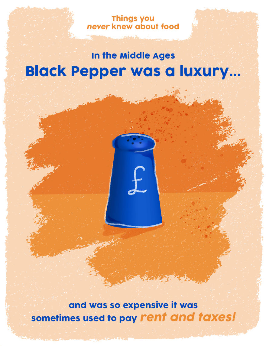 Black Pepper Was A Luxury In The Middle Ages!