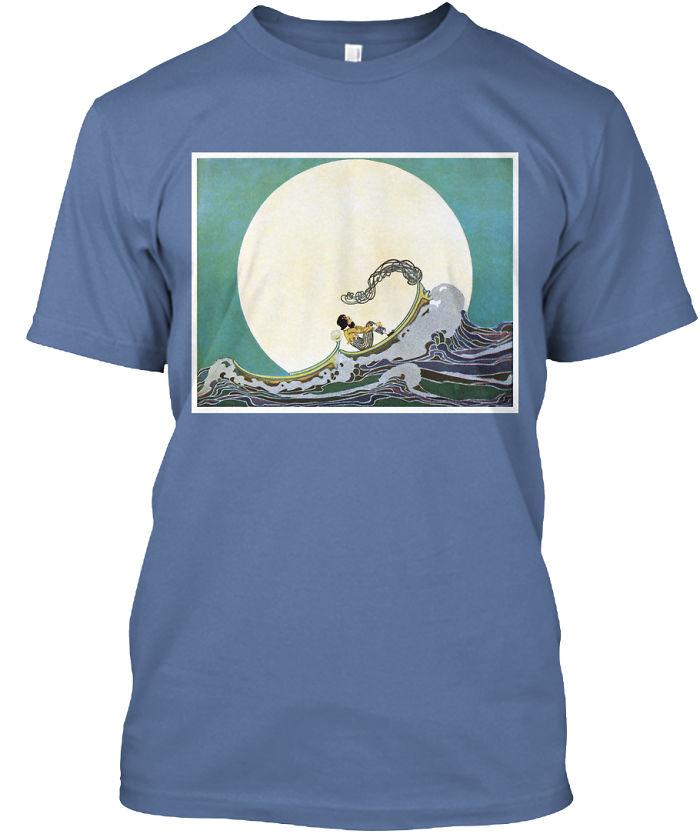 I've Designed T-Shirts Using Cool Vintage Art And Book Illustrations
