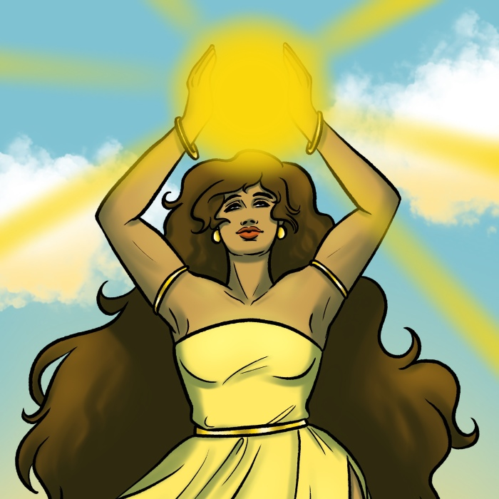 My Vision Of The Greek Goddesses