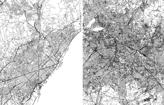 I Draw Line Maps Of World Cities