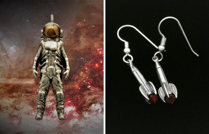 We Make Rockets And Sci-Fi Jewelry Out Of Sterling Silver