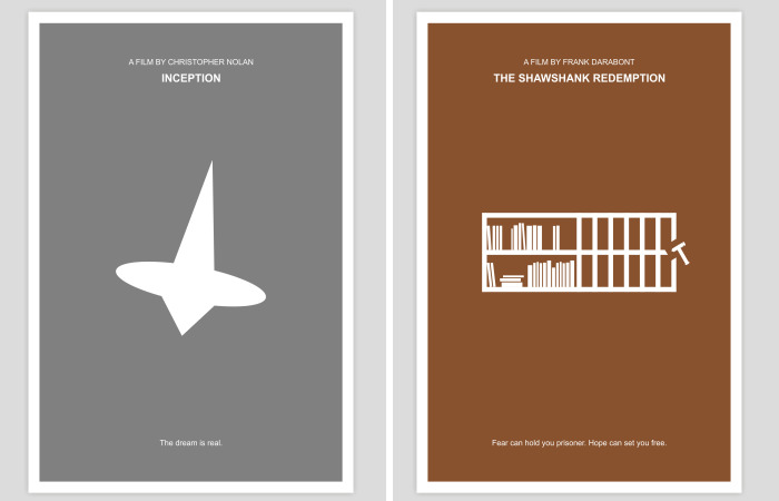 I Visualized 20 Films Using Only Simple Geometric Shapes