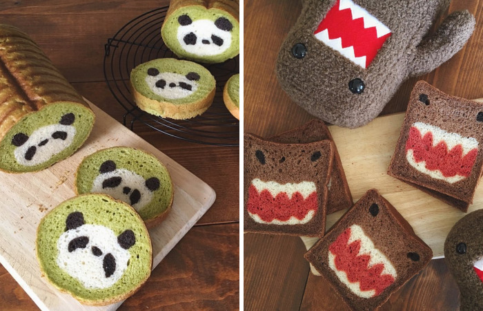 Japanese Mom Bakes Awesome Bread Inspired By Her Kid's Drawings And Nature (New Pics)