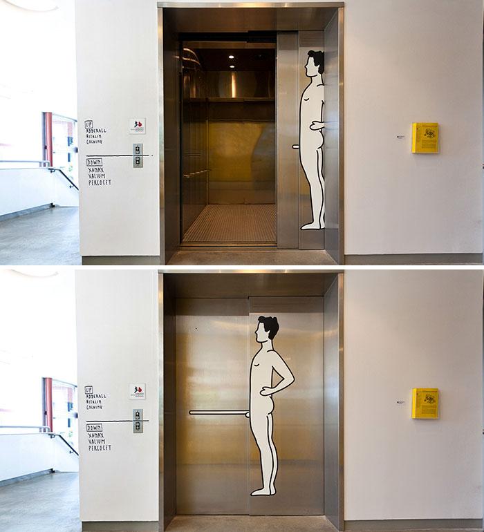 This Elevator Door...