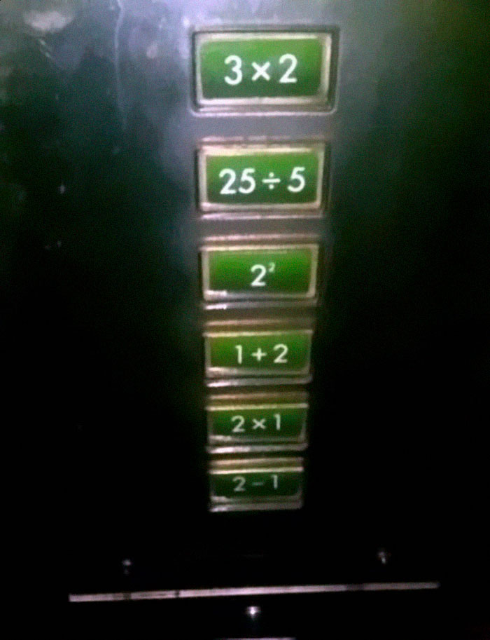 This Elevator Wants You To Do Your Math