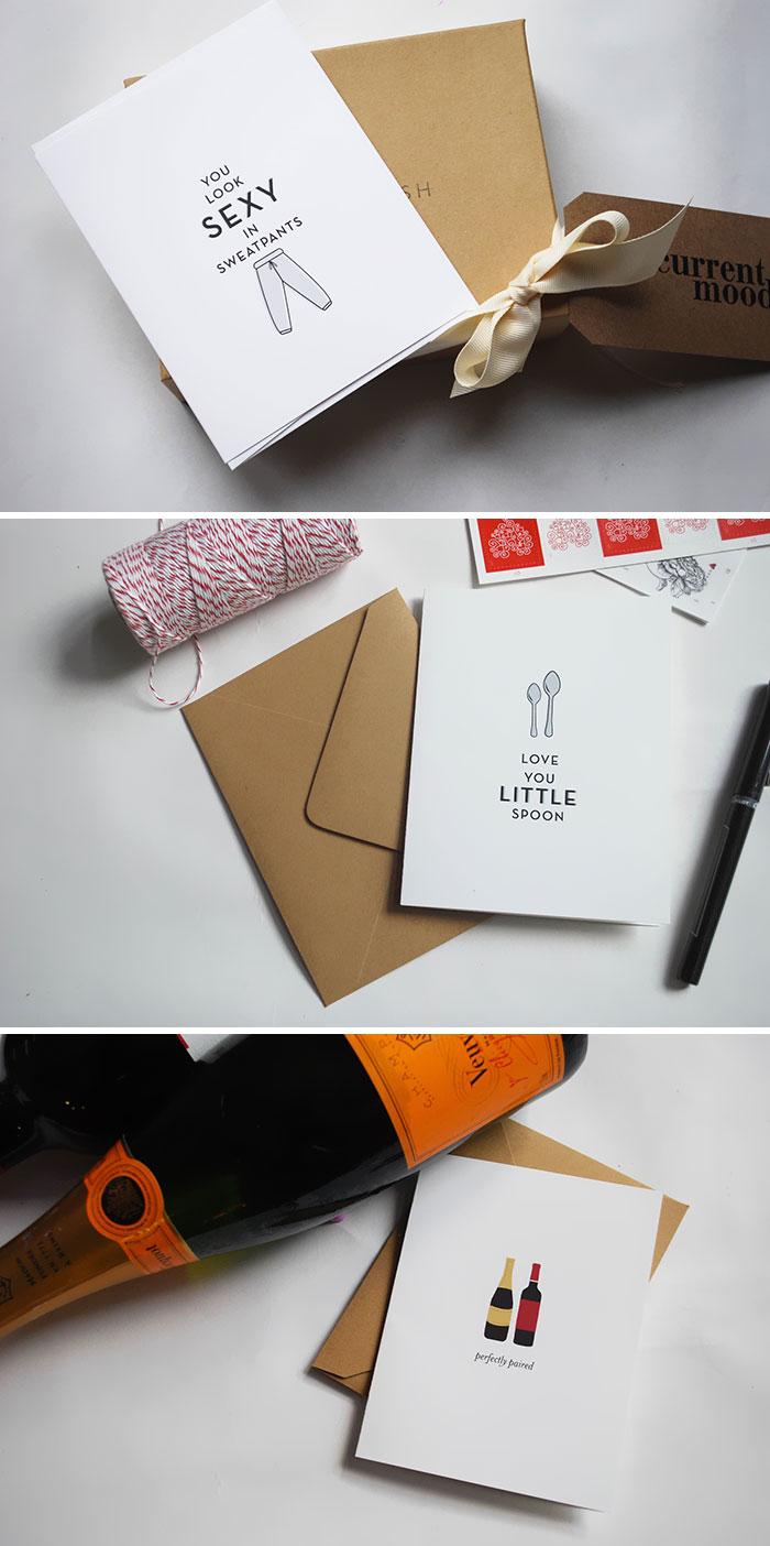 Minimalist Valentine's Day Cards