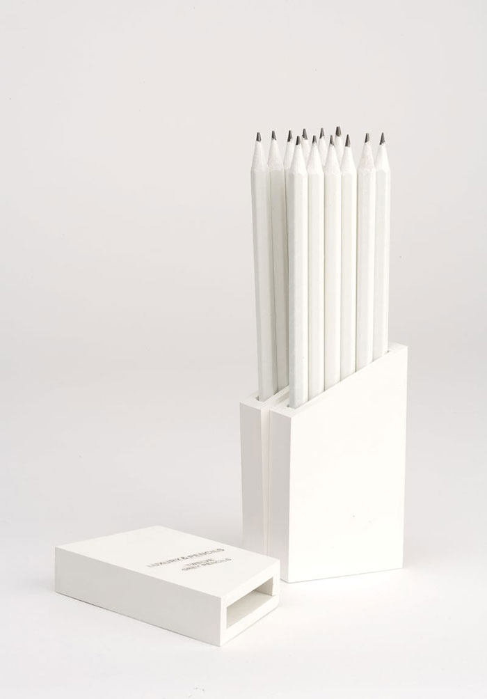 A Packaging Concept For HB Pencils Which Doubles As A Container And Is Intended To Be Displayed On Ones' Desk