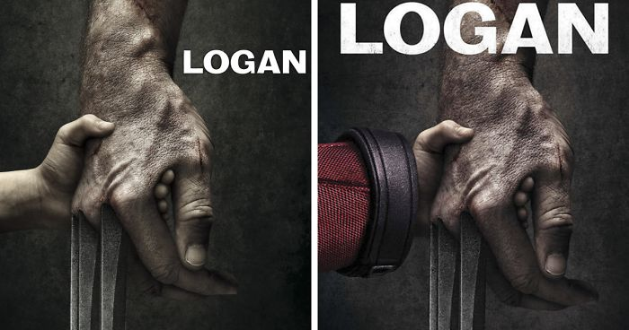 Deadpool Hilariously Takes Over Famous Movie Covers, And