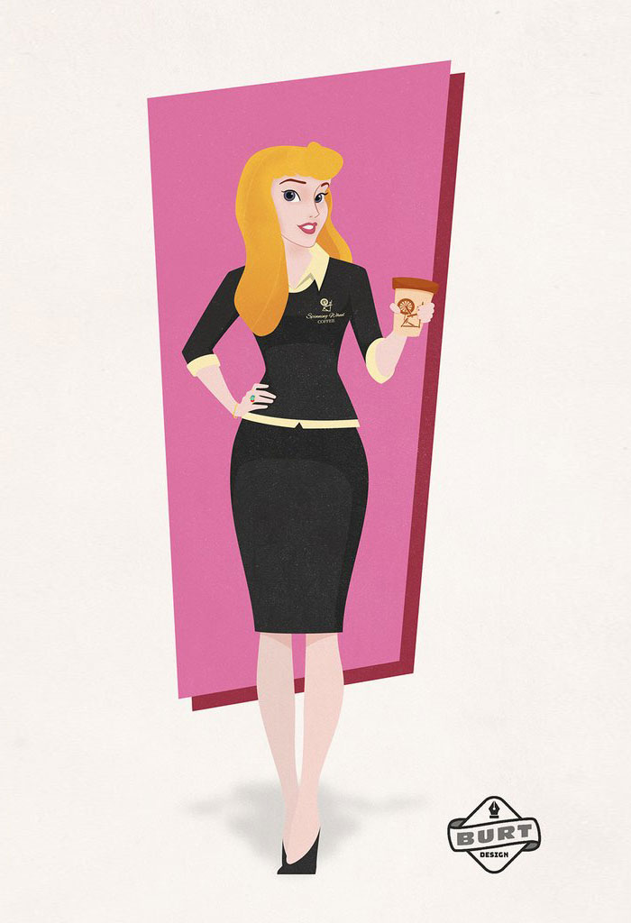 Aurora (Sleeping Beauty): Coffee Company CEO